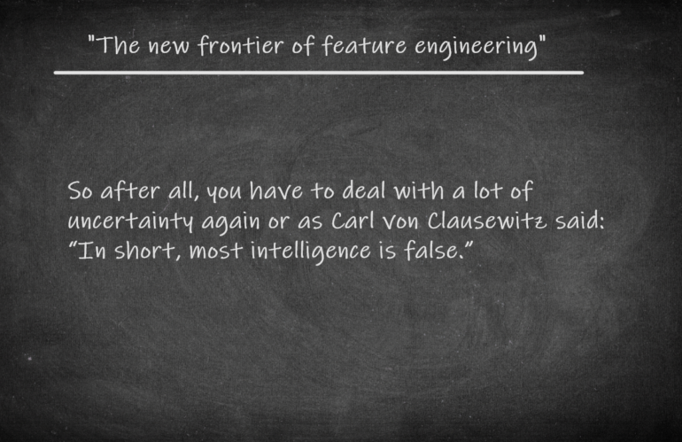 """GEOINT: """"The new frontier of feature engineering."""""""